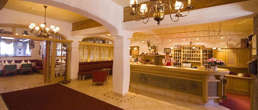 Hotel Tiefenbrunner, Kitzbühel, Austria - Reception.jpg